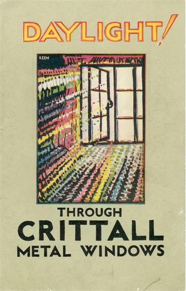 Daylight through Crittall windows - brochure cover
