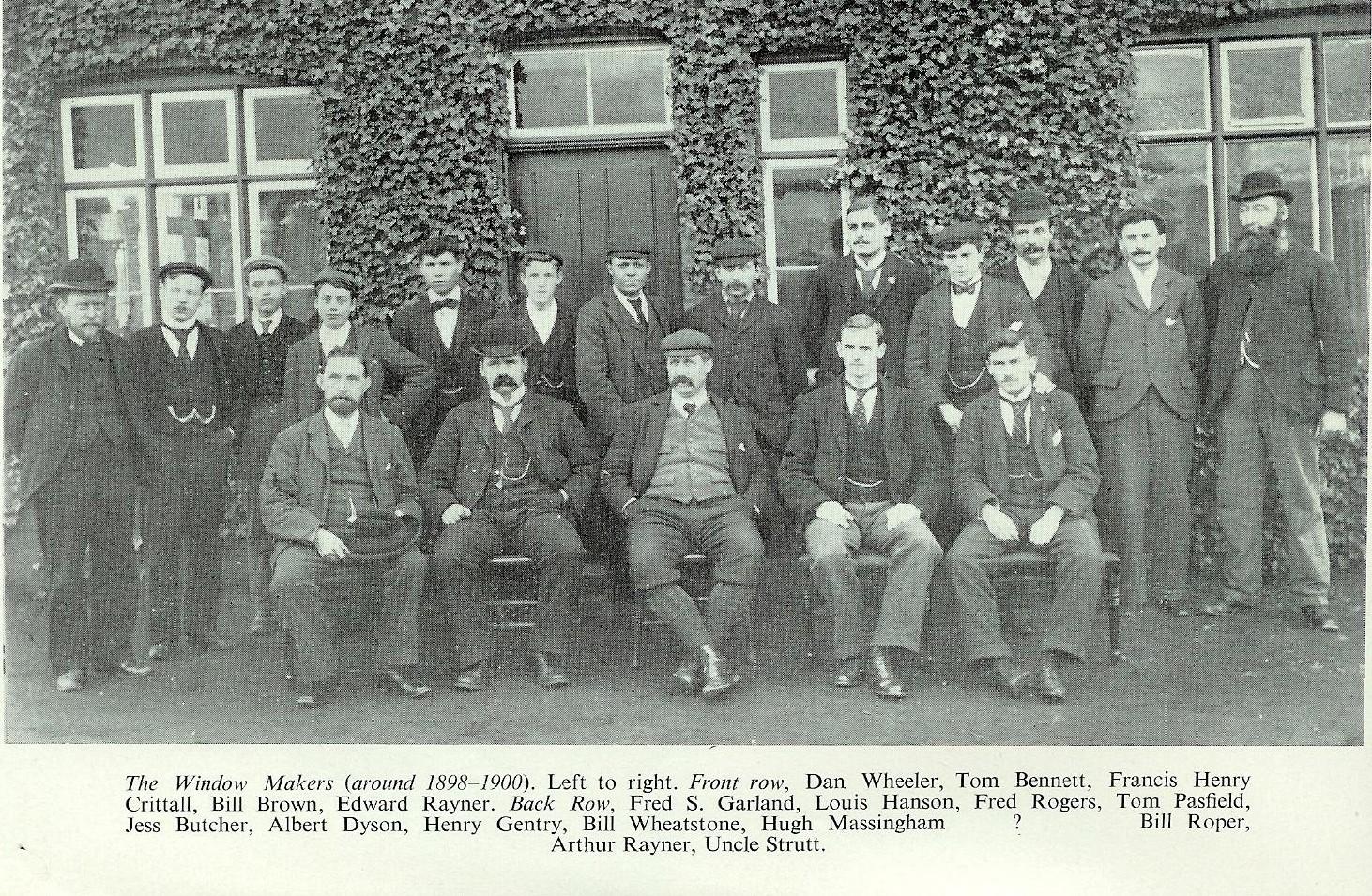 The Original Window Makers around 1900